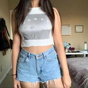 Brandy Melville Cropped Top 🌙